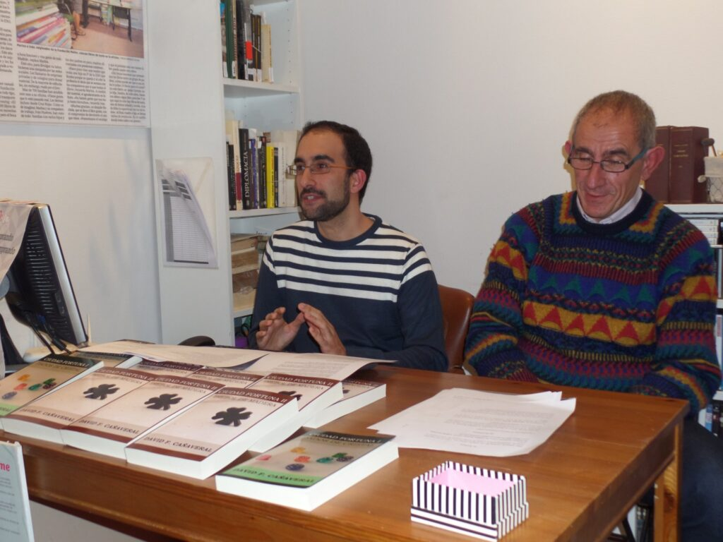 Presentación de Trébol de madera (Madrid)